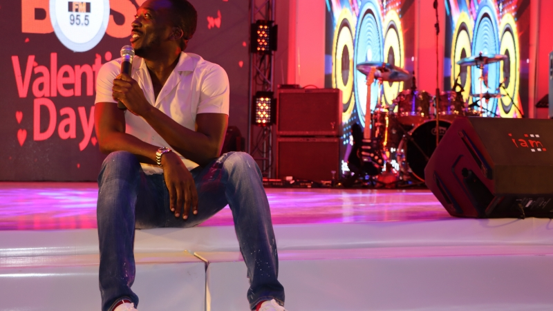 Rib-cracking performance by Bovi at BOSS FM 95.5 2020 Valentine's Day Special