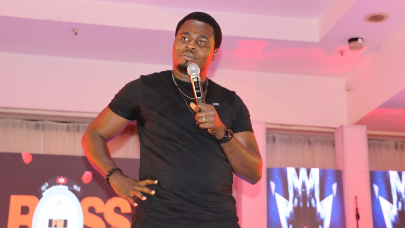 Performance by comedian,Koboko Master at BOSS FM 95.5 2020 Valentine's Day Special
