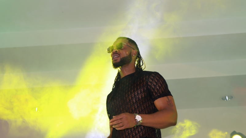 Flavour, Ijele 1 of Africa, performing at BOSS FM 95.5 2020 Valentine Day Special